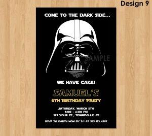 star wars birthday invitations il fullxfull uoo