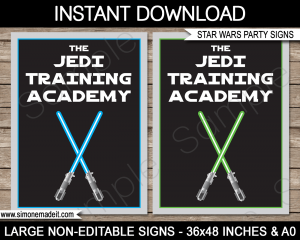 star wars invitations template star wars party signs