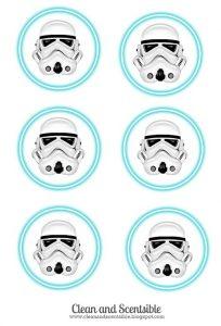 star wars invitations template storm trooper tags