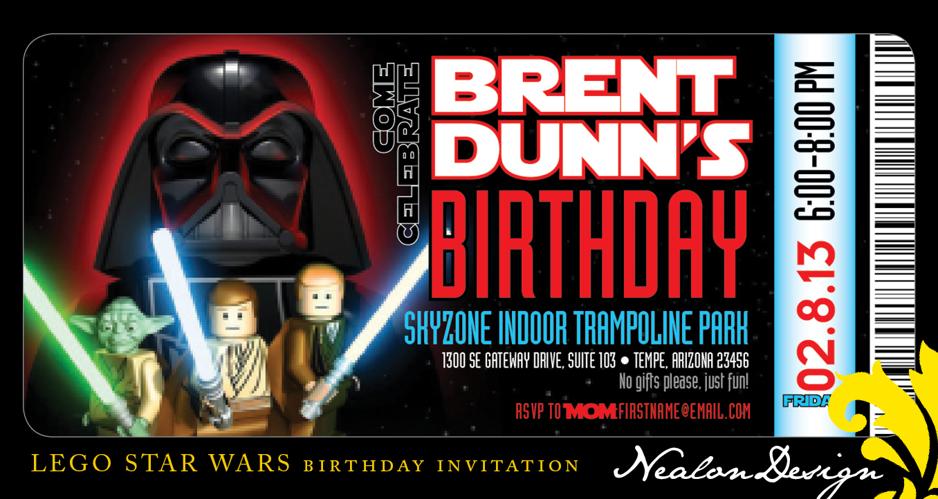 Star Wars Invites
