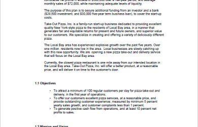 startup business plan example startup business plan sample