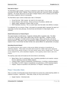 statement of work software project statement of work document sample 3 638