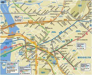 story maps printable brooklyn subway map