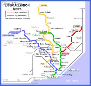 story maps printable lisbon map metro