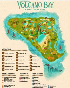 story maps printable volcano bay map