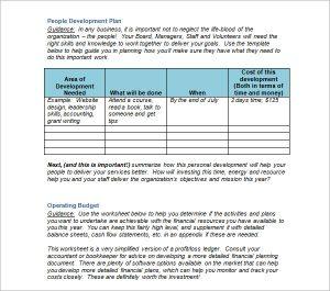 strategic plan example strategic plan template non profits charities and volunteer organizations