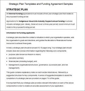 strategic plan example strategic planning process examples