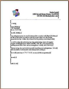 student project proposal example advertisement letter format coverletter