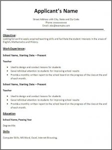 student resume format resume template download english best resume examples for your english resume template