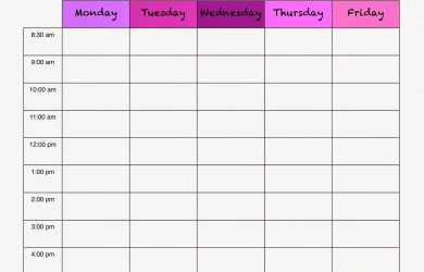 study schedule maker homeschool
