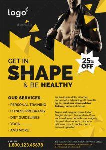 summer camp flyers fitness gym flyer template psd ffflyer com