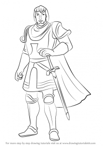 superheroes coloring pages how to draw captain phoebus from the hunchback of notre dame step