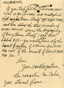 sweet love letters george carlin letter