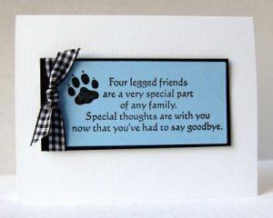 sympathy card images cas pet sympathy