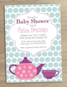 tag template printable baby shower invitation high tea printable tea party baby shower invitation