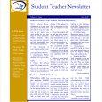 teacher newsletter templates weekly teacher newsletter template