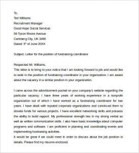 teacher resume template word fundraising job cover letter
