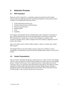 technical proposal template sample library request for proposals integrated library system