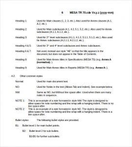 technical report template mesa technical report template