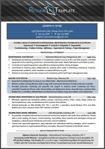 technical resume template effective technical resume template