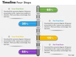template for business plan business plan timeline four steps powerpoint presentation template slide