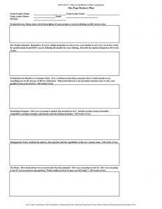 template for business plan fdeccdbfabbebacacce business plan template first page