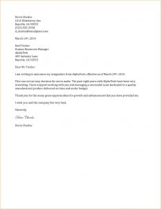 template for resignation letter weeks notice letter simple resignation letter example two weeks notice