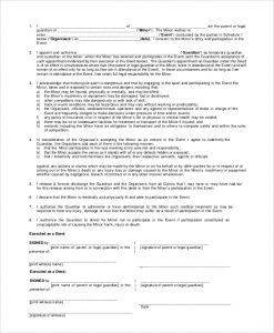 temporary guardianship agreement form temporary guardianship form for grandparents