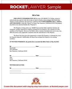 tennessee boat bill of sale sample bill of sale form template