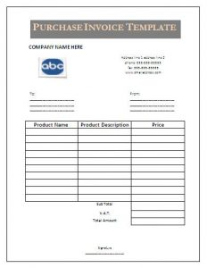 termination letter example purchase invoice template