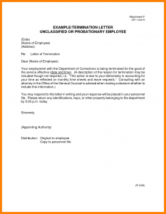 termination letter sample termination letter sample termination letter template