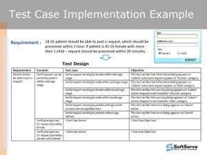 test case template excel slide