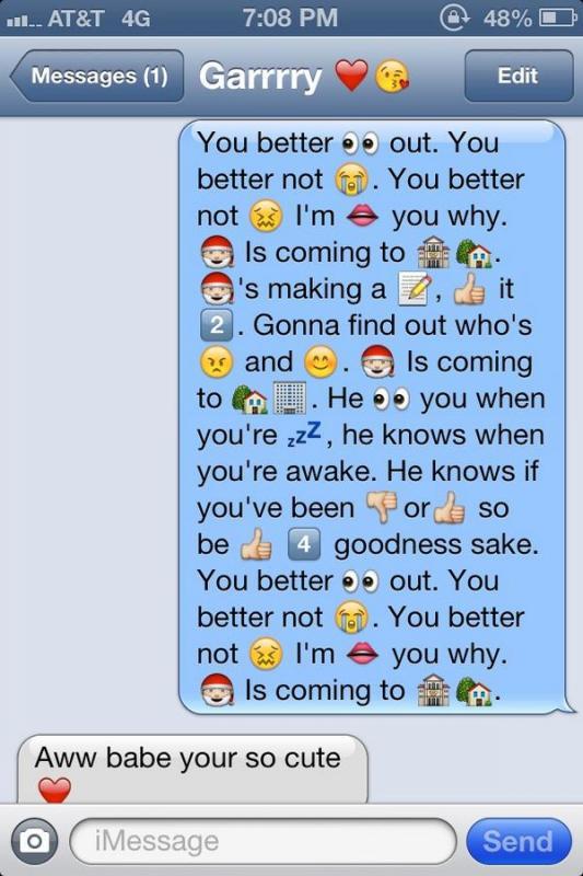 text message emoji