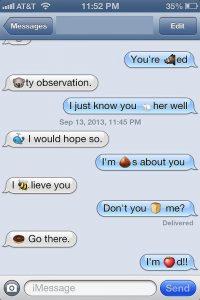 text message emoji two chat emoji text message format