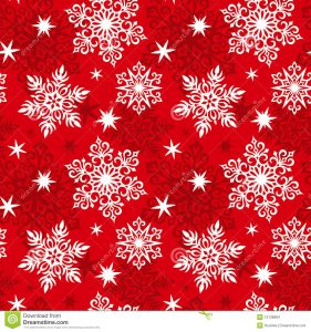 thank you card for money seamless snowflakes pattern