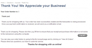 thank you for your business email demothankyou