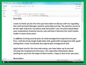 thank you letter after interview email interview thank you note email