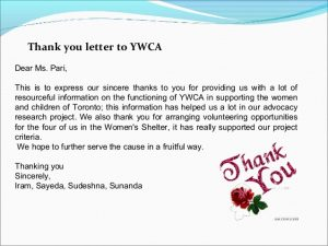 thank you letter business domestic violence against women ppt fourth semester
