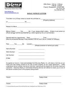 thank you letter for job offer accepted letter of day notice notice letter in day notice to vacate letter