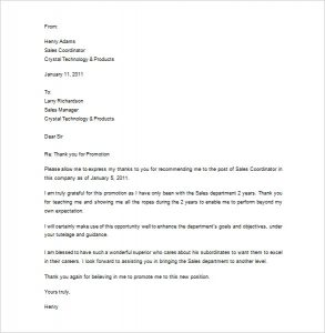thank you letter for recommendation thank you for recommendation letter sample
