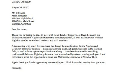 thank you letter for teacher thank you letter to teacher pdf