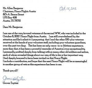 thank you letters to veterans examples grover trytten