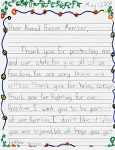 thank you letters to veterans examples sample letters veterans sample of a personal reference letter thank you letters to veterans example