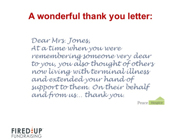 thank you note for hospitality