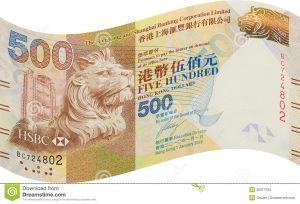 thank you note for money hong kong bank notes five hundred dollar