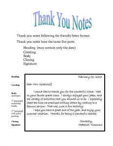 thank you note template thank you note template to learn