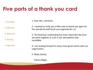 thank you note to boss for gift how to write a formal and informal thank you card