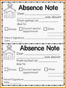 thank you notes templates school absence noteabsent note letter template word school absence note template school absence note template