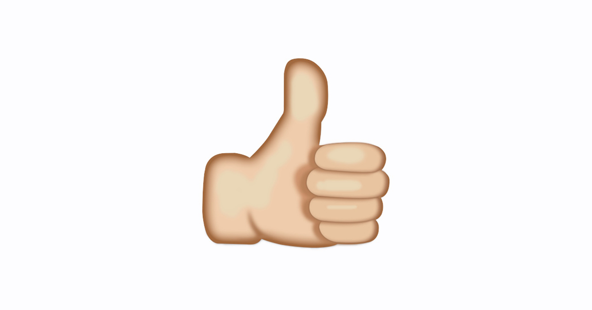 What does the thumbs up emoji mean. 👍 Thumbs Up Emoji