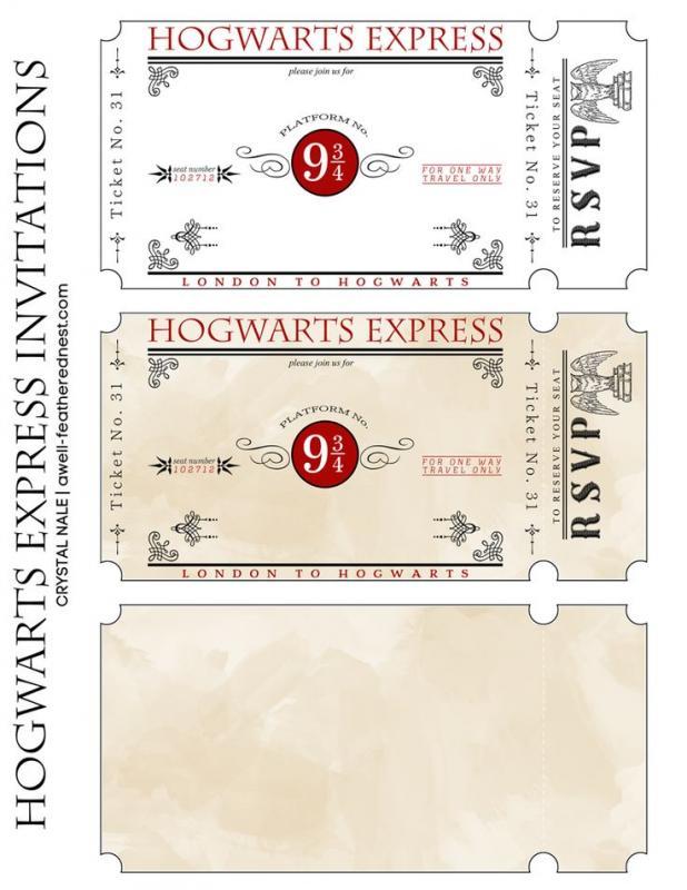 ticket invitation template